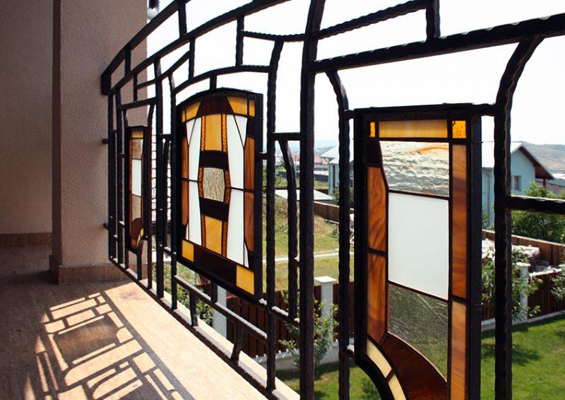 balustrade balcon - detaliu 1
