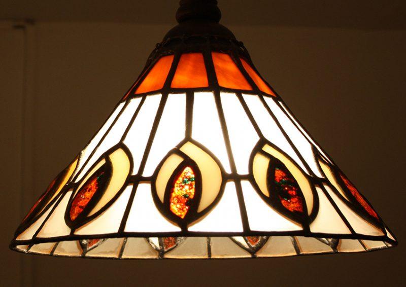 candelabre tiffany - detaliu