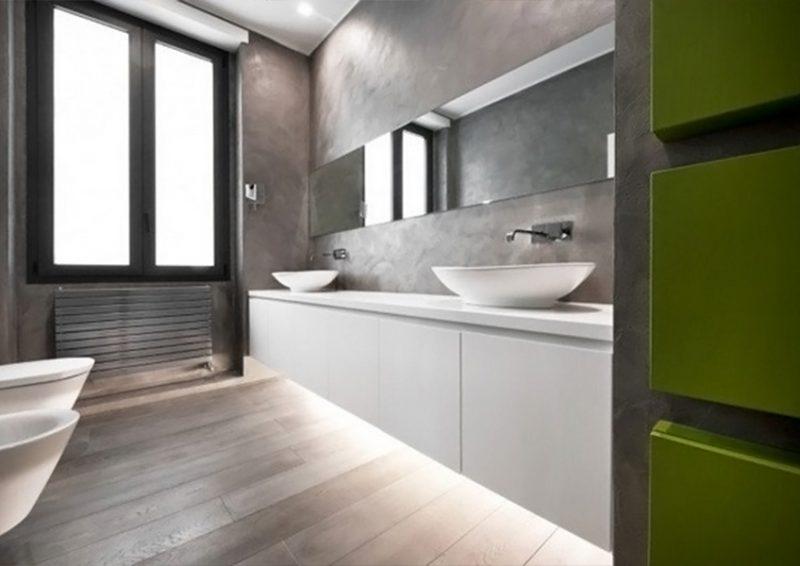 design baie minimalista - detaliu