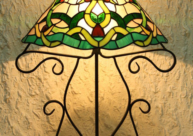 lampa tiffany - detaliu 2