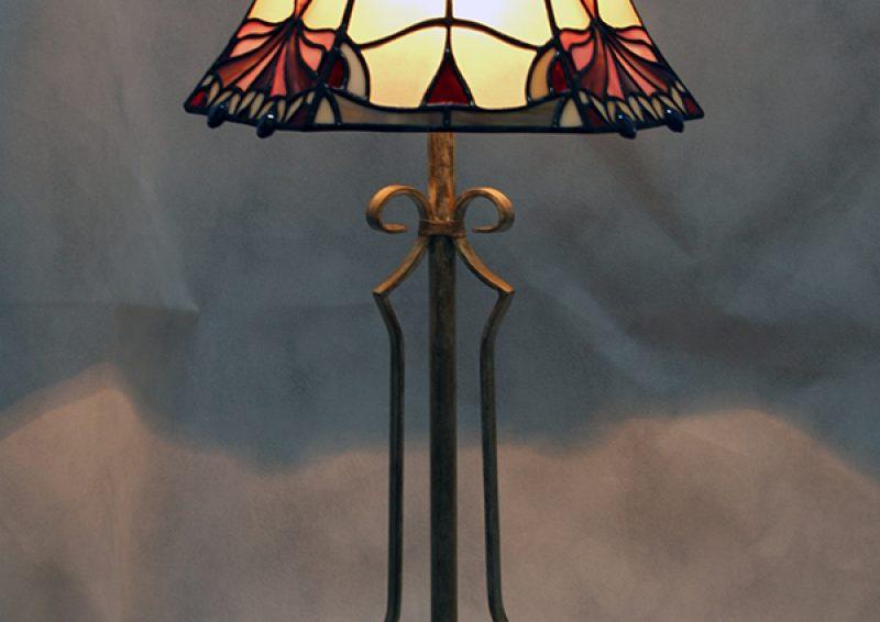 lampadar din fier forjat - detaliu 2