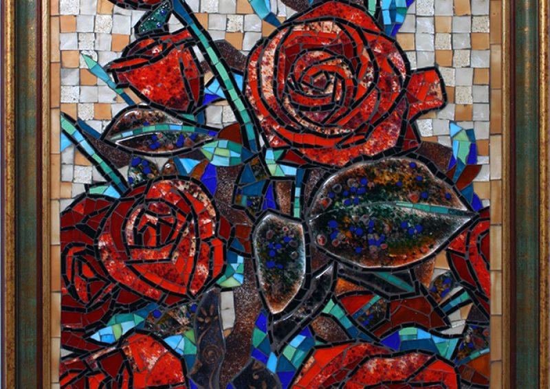 mozaic artistic - sticla 1
