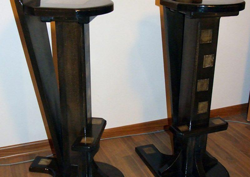 scaune lemn masiv - ansamblu