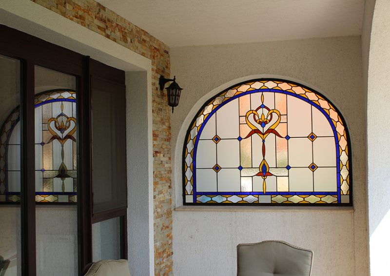 vitralii exterior - detaliu 1
