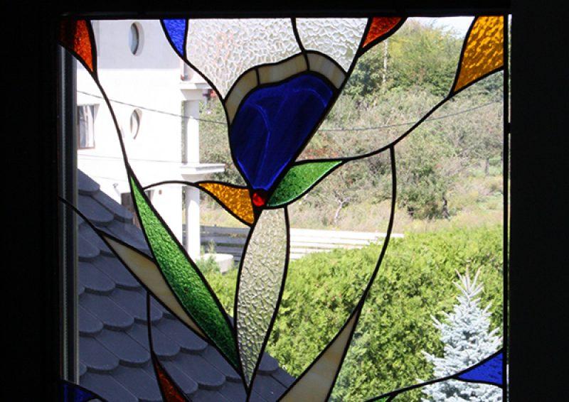 vitralii ferestre - detaliu 1