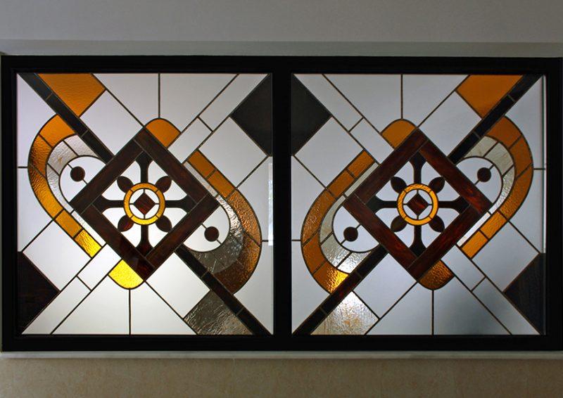 vitraliu decorativ - ansamblu