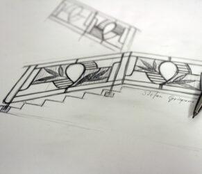 balustrada Constanta schita