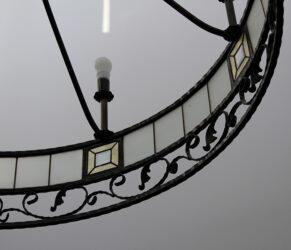 candelabru fier forjat - detaliu 3