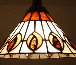 candelabru tiffany Timisoara detaliu