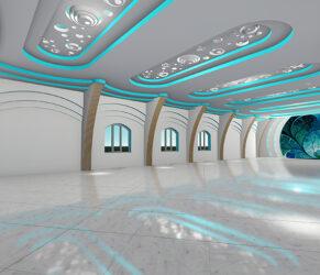 design interior - sala evenimente 2