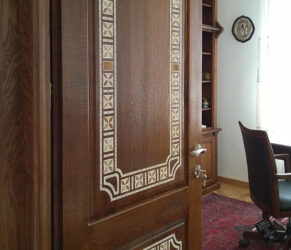 intarsii mozaic - detaliu 1