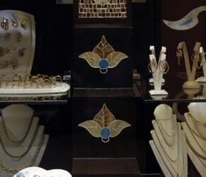 intarsii mozaic vitrina - detaliu 2