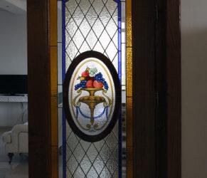 vitralii usi bucatarie 1