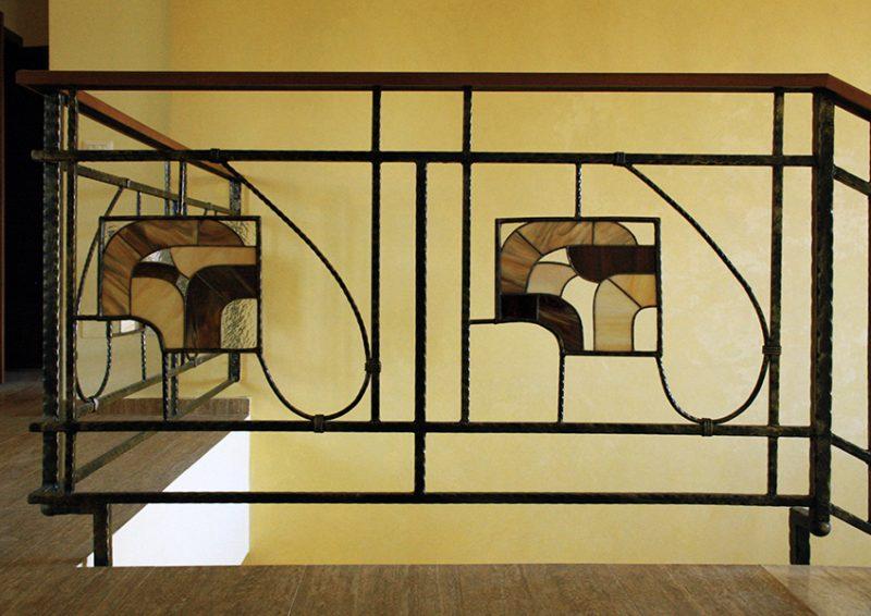 balustrade cu vitralii - detaliu 3