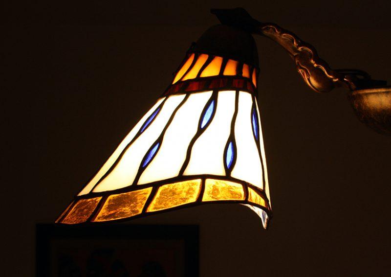 candelabru cu brate - detaliu