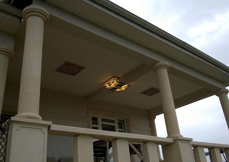 corpuri iluminat exterior - ansamblu