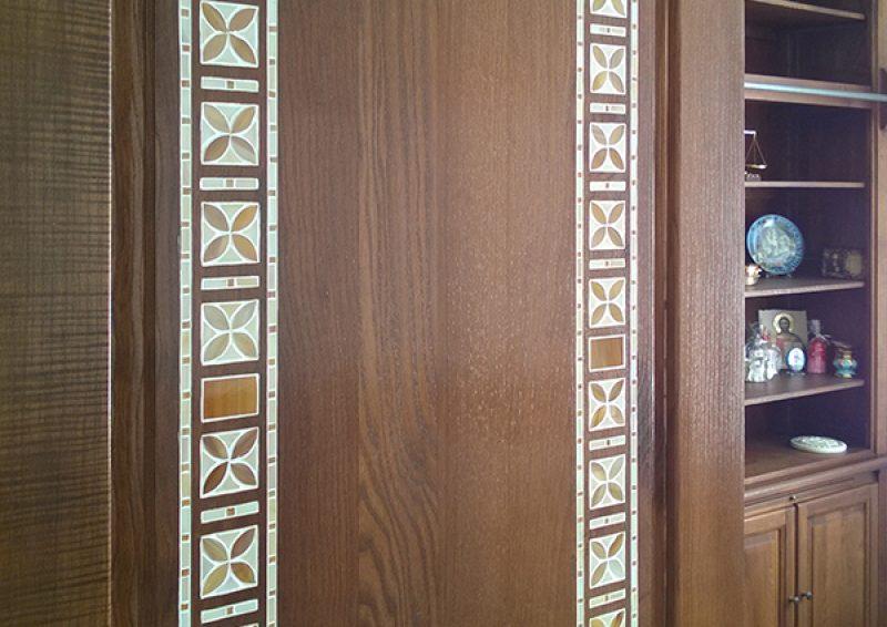 intarsii mozaic- detaliu 2