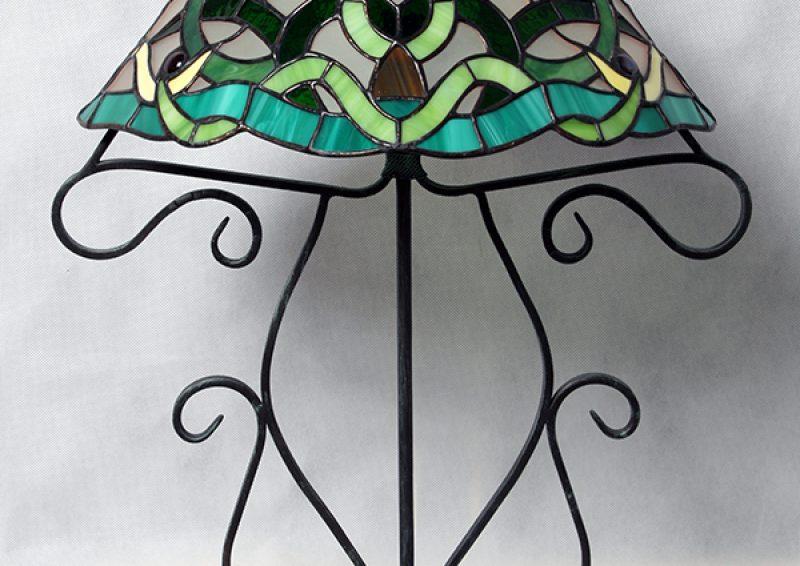 lampa tiffany - detaliu 1