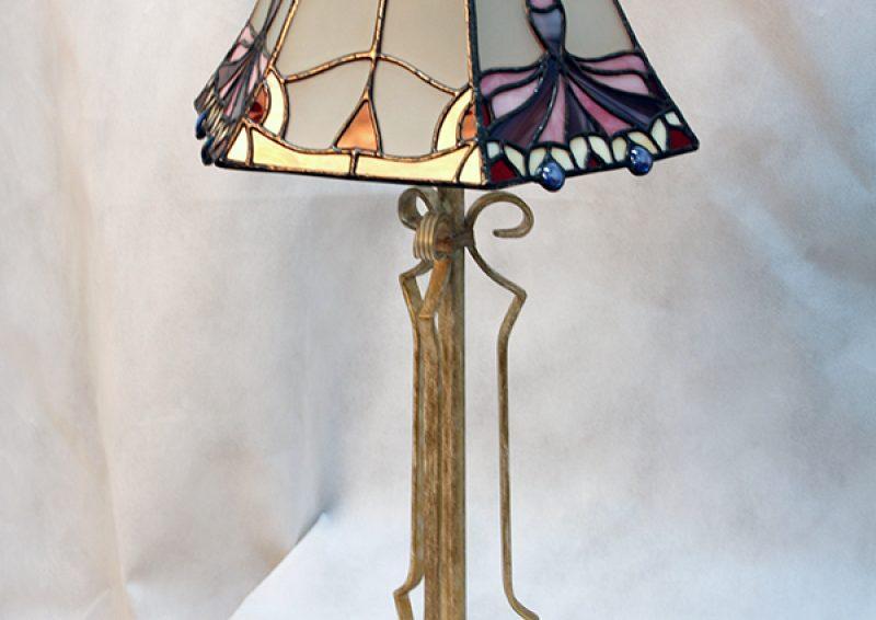 lampadar din fier forjat - detaliu 1
