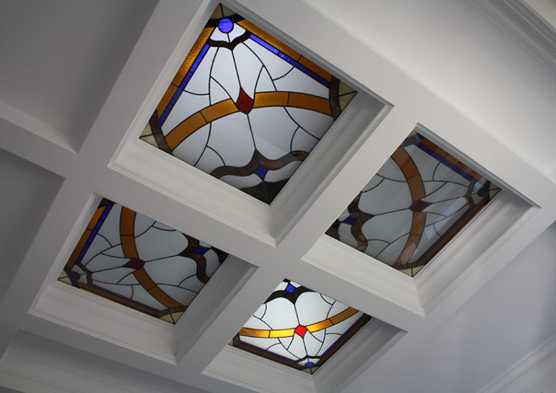luminatoare cu vitralii - ansamblu
