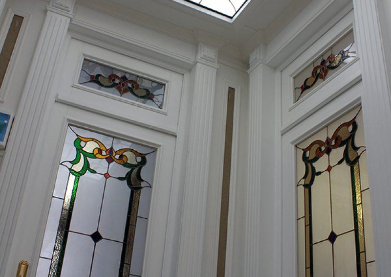 vitralii clasice - detaliu