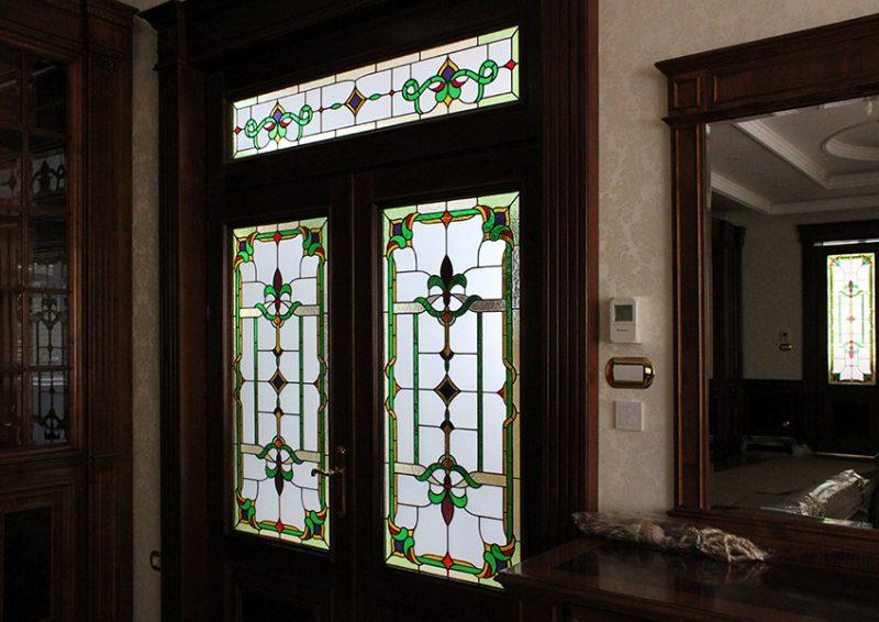 vitralii clasice - usi intrare