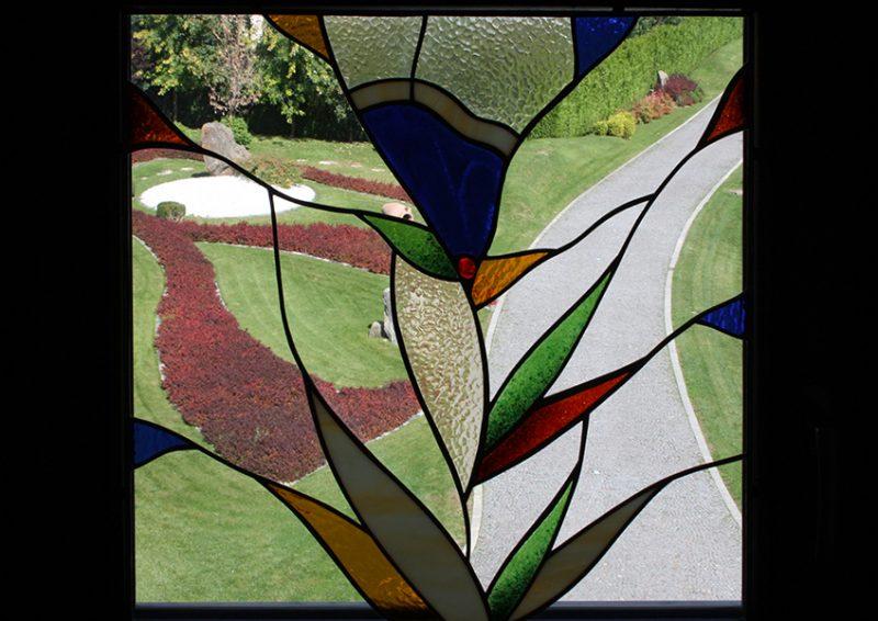 vitralii ferestre - ansamblu