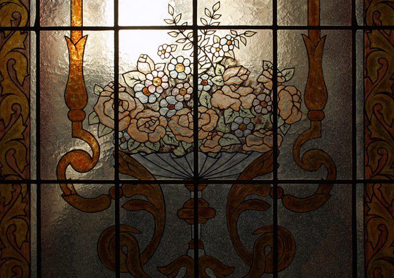 vitralii pictate - detaliu 1