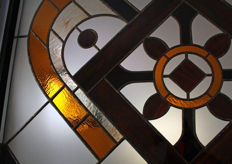 vitraliu decorativ - detaliu 1