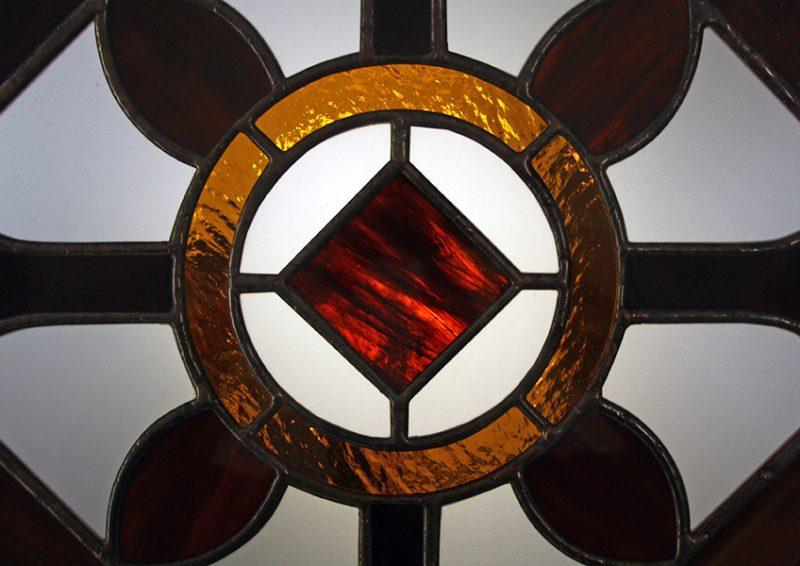 vitraliu decorativ - detaliu 2