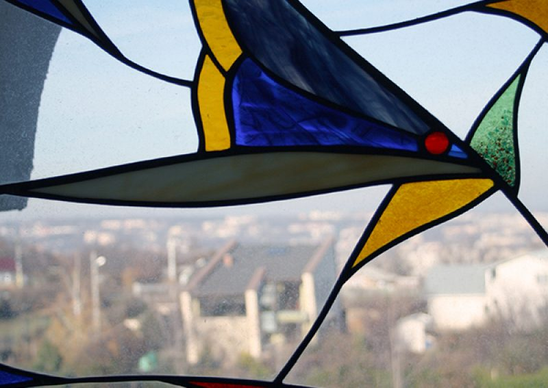 vitraliu fereastra - detaliu 2