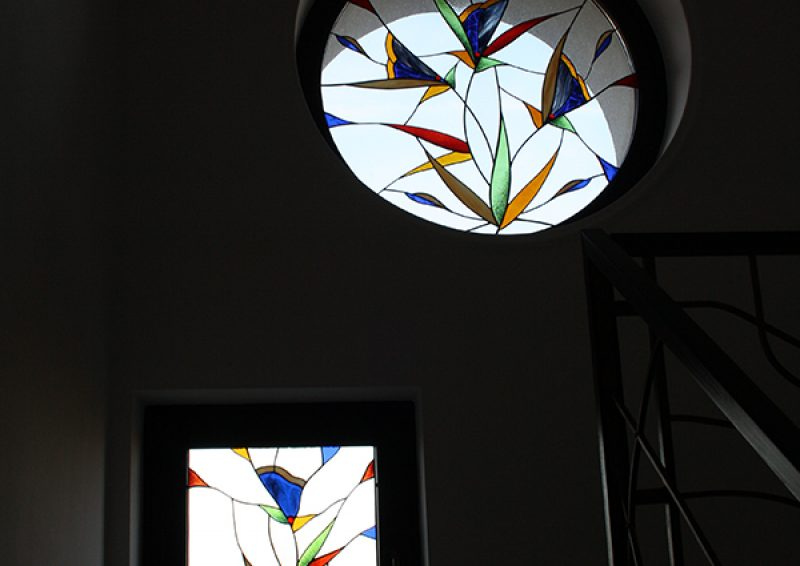 vitraliu fereastra - detaliu 3